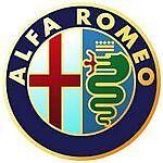 Leather Key Fob Alpha Romeo