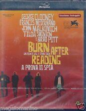 Blu Ray «BURN AFTER READING ♦ A PROVA DI SPIA» con Geoge Clooney Brad Pitt 2008