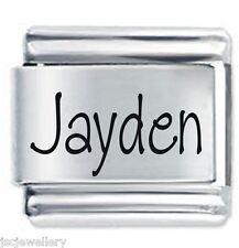 JAYDEN Nome - Daisy Charm da JSC Fits Classic Size Italian Braccialetto Ciondoli