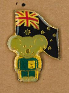 Australia Olympic NOC pin -  Summer Games  - Koala 1980's - badge