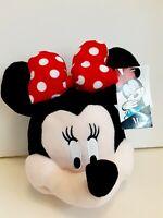Disney Minnie Mouse Bag Girls Purse Plush Head New Birthday Gift Authentic