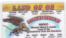 Nikko Flying Monkey Land of Oz novelty card Drivers License Wizard w w denslow
