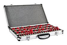 Juego de fresas para madera HOLZMANN OFS50 set 50 herramientas para fresadora