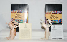 Just The Right Shoe by Lorraine Vail Shoe Miniatures- En Pointe & Champagne Sign