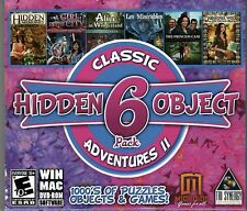 ALICE IN WONDERLAND Hidden Object 6 PACK PC Game NEW