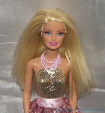 Barbie Golden Blonde Always Dressed Jointed Fashion Doll w/Glitter Glam Outfit