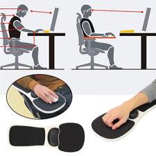 Black Rest Arm Chair Pad Mouse Support Computer Desk Ergonomic Wrist Armrest