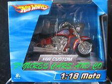 MOTO1/18 HARLEY DAVIDSON HOT WHEELS 2004 HW CUSTOM