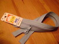 fermeture éclair séparable 35 cm  injecté de 6 mm  coloris BLEU CLAIR 505