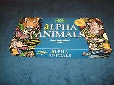 ALPHA ANIMALS-DELUXE FAMILY EDITION THE AMAZING ANIMAL ADVENTURE BOARDGAME