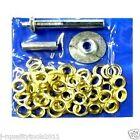 103 pc TARP TENT AWNING Repair GROMMET Install KIT TOOL