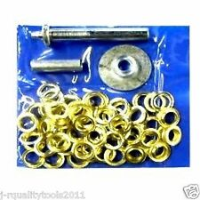 103 pc TARP TENT AWNING Repair GROMMET Install KIT TOOL