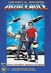 IRON EAGLE - LOUIS GOSSETT JR - NEW & SEALED DVD FREE LOCAL POST