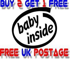 BABY inside :) VINYL STICKER DECAL VAN CAR COLOUR DUB JDM