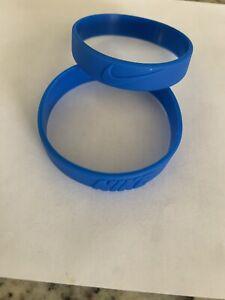 Nike Sport Baller Band Silicone Blue w/Blue Logo