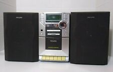 Vintage RARE Philips MC-10/37 AM/FM Stereo CD Cassette Micro System.
