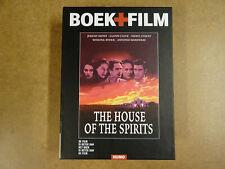 DVD + BOEK / THE HOUSE OF THE SPIRITS ( JEREMY IRONS, GLENN CLOSE, MERYL STREEP)