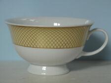 Rosenthal AIDA SIAM Gelb + Golddekor Teetasse Goldrand Gitter