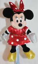 """New listing Minnie Mouse Ty's Beanie Baby Sparkle Small 9"""" Plush Toy Stuffed Animal - Red"""