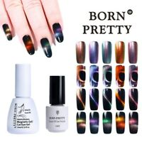 5/10ml Born Pretty Holographic Chameleon Cat Eye UV Gel Polish Magnetic Varnish