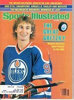 1981 (10/12) Sports Illustrated,Hockey magazine,Wayne Gretzky,Edmonton Oilers~VG