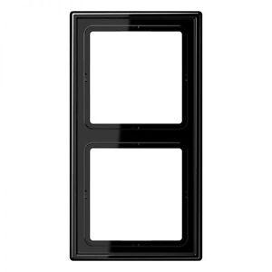 Jung LS990 Rahmen 2fach Schwarz LS982SW