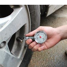 1X Car Wheel Tire Air Pressure Gauge Meter Tyre Metal Tester for Bike Motorcycle