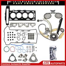 Head Gasket Set Timing Chain Kit Fits 02-06 Chevrolet Saturn 2.2L
