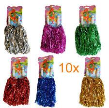 20 Stück = 10 Paar Cheerleader Pompoms Pompom Pompon Püschel Tanzwedel Wedel