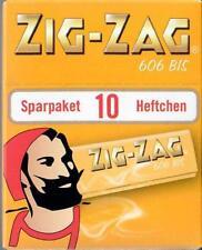 ZIG ZAG gelb No 606 Sparpaket 10x50 Blatt