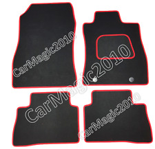 To Fit Nissan Juke Tailored Car Mats 2010-19 - Red