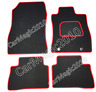 To Fit Nissan Juke Tailored Car Mats 2010 onwards - Red