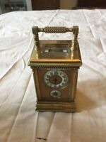 Miniature Carriage Alarm Clock Spares Or Repair