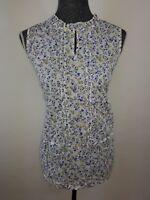 Neue schicke Tom Tailor Damen Bluse Gr.L in Weiß mit Blumenmuster NEU/OVP