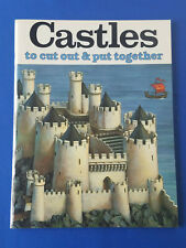 1981 BELLERPHON Conway CASTLES TO CUT OUT & PUT TOGETHER Scale Model *TM9