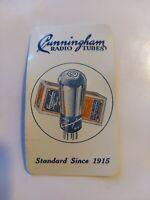 Vintage Cunningham Radio Tubes Advertising Calendar 1931 Hagerman's Electric