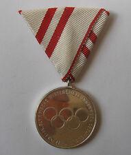 Silver Medal of Merit 1964 Innsbruck Winter Olympic Games