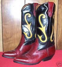 Chice Cowboy Boots mit Echse von Nine West aus USA Gr. 37,5
