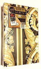 Kleer Vu Photo Album - Holds 300 Photos - Slip-In Series - Ornate Scroll - 4 x 6
