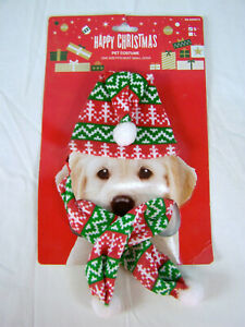 Happy Christmas Pet Costume for Small Dogs