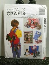 Bean Bag Babies Accessories Sewing Pattern McCall's 9050 Beanie Organizer Tote