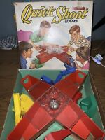 VINTAGE 1970 Quick Shoot Game by Ideal Rootin' Tootin' Marble Shootin' !