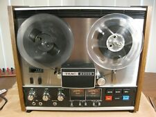 Teac A-2300S  Reel to Reel -Player Recorder w / Original Owners Manual