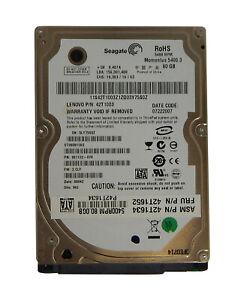 IBM 80GB 2.5in 5400RPM SATA Hard Drive 42T1652 42T1003 42T1634 ST980811AS