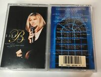 Barbara Streisand - The Concert Act 1 & Act 2 - Music Cassette Tapes
