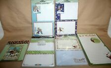 Lot of-6 Mary Engelbreit Christmas Self Stick Notes, Magnet Pad & Frig Magnet