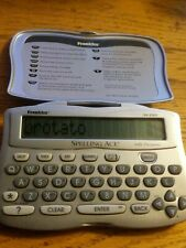 Franklin Spelling Ace Sa-206S Dictionary & Thesaurus Device Tested! Working!