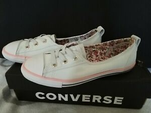 Womens converse All star ballet lace pumps size 4 RRP £47