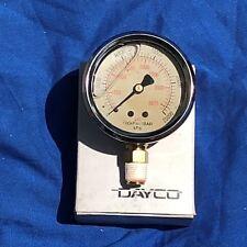 DAYCO PSI LIQUID GAUGE 0-2500kPa 63mm BOTOM ENTRY SUIT MACHINERY