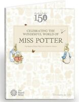 2016 MISS POTTER COIN ALBUM for Jemima Puddle Duck, Peter Rabbit...... 50p coins